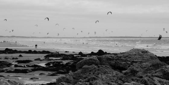 Strand bei Plouharnel/Bretagne